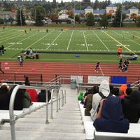 Photo taken at Rainier Beach High School by Phil M. on 10/11/2014