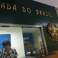 Photo taken at Embaixada do Brasil by Marcus D. on 11/28/2016