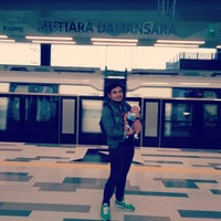 Photo taken at Marina Bay MRT Interchange (NS27/CE2) by Azlan S. on 12/31/2016