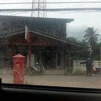 Photo taken at ไปรษณีย์ ท่าฉาง by จุฬรฐั โ. on 9/25/2012