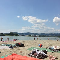 Photo taken at Linz13 Strand by Andreas on 8/15/2013