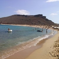 Photo taken at Panormos Beach by Alex T. on 8/31/2013