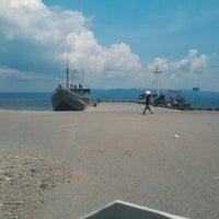 Photo taken at Pelabuhan Tulehu by Yashier A. on 11/19/2015