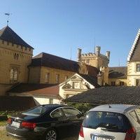 Photo taken at Hotel Schloss Weitenburg by Nabil D. on 9/18/2012