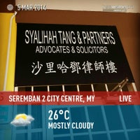 Photo taken at Seremban 2 City Centre by Ahyauddin 2. on 3/5/2014