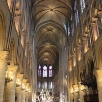Photo taken at Cathedral of Notre Dame de Paris by Victor V. on 7/3/2013