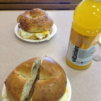 Photo taken at New York Bagel & Deli by Beci M. on 11/5/2012