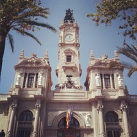 Photo taken at Ajuntament de València by Mark N. on 4/18/2013