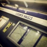 Foto tomada en Metro Vicente Valdés por @alejopia el 11/21/2012