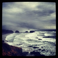 Photo taken at Cresent beach by Bobby Berk on 10/16/2012
