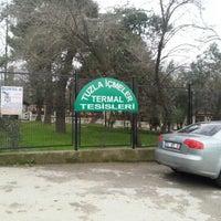 Photo taken at Tuzla Termal Oteli by Ömer A. on 1/18/2013