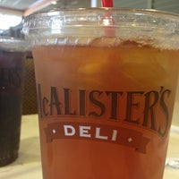 Photo taken at McAlister's Deli by Stacie W. on 1/11/2013