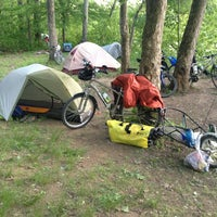 Photo taken at Huckleberry Hill Campsite by Vince L. on 5/26/2013