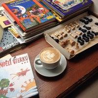 Photo taken at Prádelna Cafe by Jane on 2/16/2015