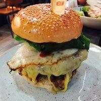 Photo taken at Gourmet Burger Kitchen by Tomek Ś. on 3/25/2016