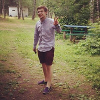 """Photo taken at база отдыха """"Ландыш"""" by Kate on 7/20/2013"""