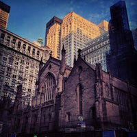 Photo taken at Trinity Church by Tim on 12/28/2012