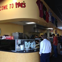 Photo taken at Moe's Southwest Grill by Tad L. on 4/16/2013