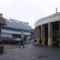 Photo taken at metro Rizhskaya by Sergey K. on 5/24/2013