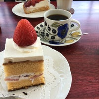 Photo taken at サザコーヒー 水戸京成百貨店店 by ぐれむ on 6/11/2016