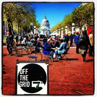 Photo taken at Off the Grid: UN Plaza by Bob F. on 3/21/2013