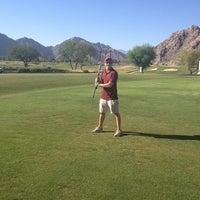 Photo taken at La Quinta Mountain Course by Lisa K. on 6/20/2014