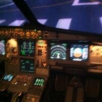 12/2/2012 tarihinde Sofia Naiden A.ziyaretçi tarafından Türk Hava Yolları Uçuş Eğitim Başkanlığı'de çekilen fotoğraf
