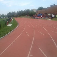 Photo taken at Toronto Track & Field Center by Anna-Kay B. on 6/15/2013