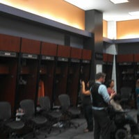 Photo taken at Phoenix Suns Locker Room by Michael P. on 11/7/2012