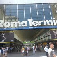 Photo taken at Roma Termini Railway Station (XRJ) by Katyamba on 7/21/2013