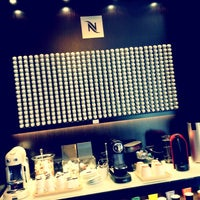 Photo taken at Nespresso Boutique by Alex T. on 9/28/2012