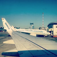 Photo taken at Henri Coandă International Airport (OTP) by Catalin A. on 7/23/2013