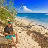 Photo taken at Lime Cay by Mattz H. on 12/30/2016