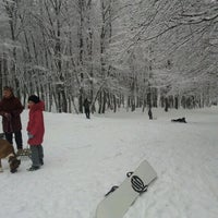 Photo taken at Холодные родники by Evenly M. on 12/23/2012