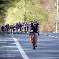 Photo taken at Prospect Park Loop by Team Sixcycle R. on 4/29/2013