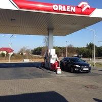 Photo taken at Orlen by Adrian on 3/21/2014