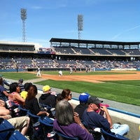 Photo taken at Harbor Park by JC H. on 4/14/2013