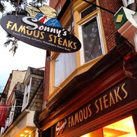 Photo taken at Sonny's Famous Steaks by Bertrand on 10/12/2012