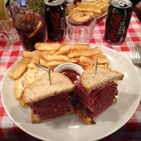 Photo taken at Schwartz's Deli by Bertrand on 1/13/2013