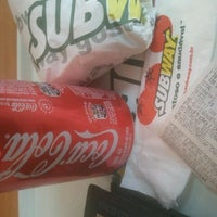 Photo taken at Subway by Luccas F. on 9/21/2012