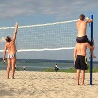 Photo taken at Пляж 6 мкр by Игорь on 6/24/2013