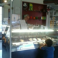 Photo taken at Gelateria Tropical Ice by Frank B. on 10/1/2012