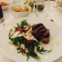 Photo taken at Rocca Resturant by AMH on 1/23/2015