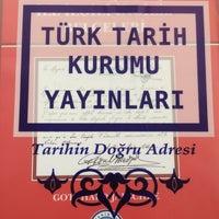 Photo taken at Türk Tarih Kurumu Yayınları by Ahmet S. on 10/7/2016