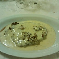 Photo taken at Ristorante Vecchio Borgo by Massimo B. on 10/28/2012