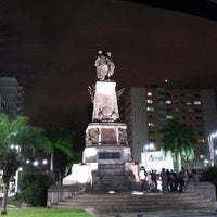 Photo taken at Praça da Independência by Emilio P. on 5/26/2013