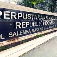 Photo taken at Perpustakaan Nasional RI by Naiilal H. on 5/2/2013