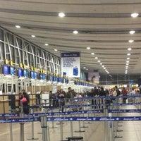 Photo taken at Comodoro Arturo Merino Benitez International Airport (SCL) by Fernando O. on 7/12/2013