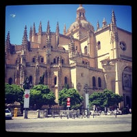 Photo taken at Catedral de Segovia by Kelly G. on 7/24/2013