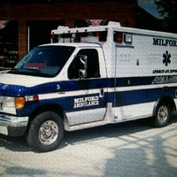 Photo taken at Milford Ambulance by DUNCAN P. on 1/20/2013